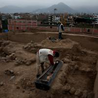 Remains of 20th-century Chinese laborers found at ancient pyramid in Peruvian capital