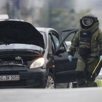 Brussels police shoot at car during pursuit, find no bomb despite driver's claim
