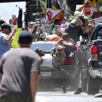 White nationalist rally linked to three deaths in Virginia