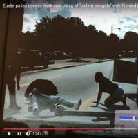 Dashcam video shows white cop punching black man during stop near Cleveland