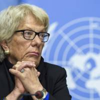 Syria investigator del Ponte quits, blames U.N. Security Council for lack of backing