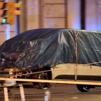 Islamic State takes credit as Spain searches for van driver who mowed down Barcelona crowd