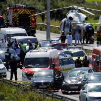 Terrorism suspected as man ambushes French soldiers in car attack, is later arrested after chase