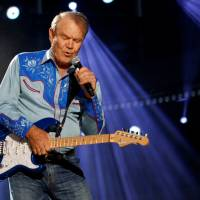 American country music artist Glen Campbell performs during the Country Music Association (CMA) Music Festival in Nashville, Tennessee, in 2012. | REUTERS