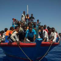 Italy begins naval mission in Libyan waters to curb migrant flows