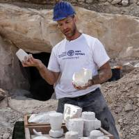 Dig yields ancient mug workshop near site of Jesus wine miracle