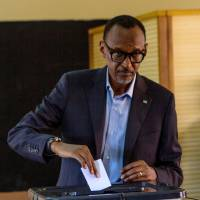 In landslide, Rwanda leader Kagame wins third term with around 98% of votes