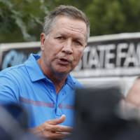 Kasich urges Trump to end staff turmoil and 'settle it down'