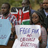 Kenyans demand probe into torture-slaying of election tech official, fear rigged polls next week