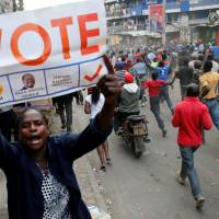 Opposition declares win in unofficial vote tally as Kenya election dispute intensifies