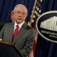 Sessions vows crackdown on leaks of classified information