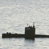 Danish police say entrepreneur's submarine seems to have been sunk on purpose