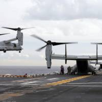 Australia sends ships, divers to aid in recovery after U.S. Marines end search for missing Osprey crash trio
