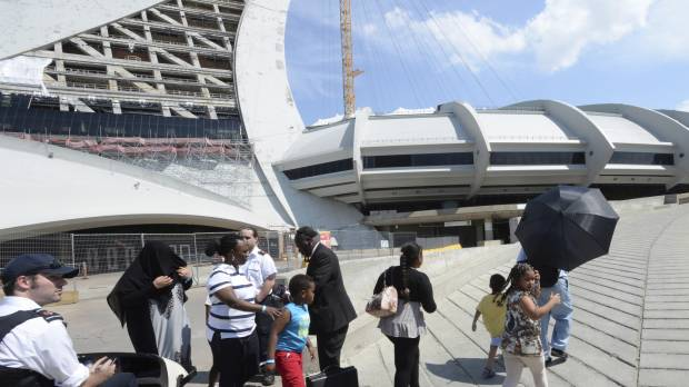 Montreal's Olympic Stadium opens for asylum seekers coming from U.S.