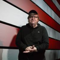 Filmmaker Michael Moore takes to Broadway, says Trump will 'get us all killed'