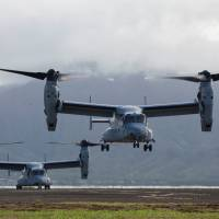 Marines weigh grounding Ospreys for safety checks after deadly crash off Australia
