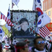 Jailed South Korean leader Park draws small but growing army of outrage