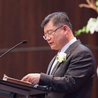 Canadian pastor freed by North Korea is healthy, passes through Japan on way home
