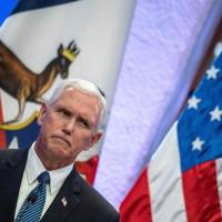 Pence ducks questions on Trump's Charlottesville comments but hits 'dangerous fringe groups'
