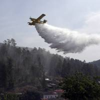 3,000 pressed into battle against raging Portugal wildfires