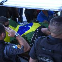 Rio buries 100th police officer slain this year as 2017 looks to be deadliest for force in decade