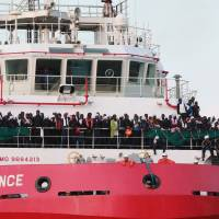 Libya's banning of ships from migrant 'search and rescue' zone hailed by Italy, seen by NGOs as 'deady gap' in sea