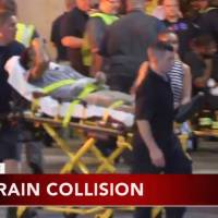 Philly commuter train crash leaves 42 injured, 'walking wounded'