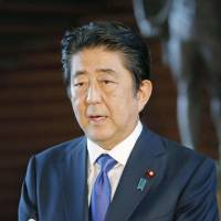 Abe and Trump reaffirm importance of halting North Korean missile launches