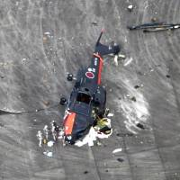 Four Japanese servicemen injured after GSDF helicopter flips in Iwakuni