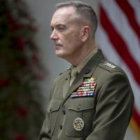 Top U.S. general to discuss increased security cooperation with Japan, China and South Korea