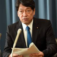 New defense chief Onodera suggests Japan should consider acquiring ability to strike North Korean missile bases
