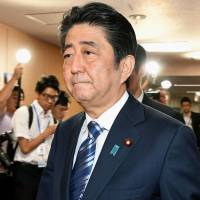 With support rate in free fall, Abe eyes veterans for key posts in Cabinet reshuffle