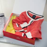 Aircloset Inc. sends a new batch of clothes in a box after the user returns the old one. | COURTESY OF AIRCLOSET INC.