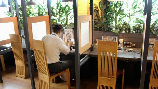 Japan's eateries, karaoke spots increasingly catering to solo patrons
