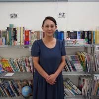 Takami Kurisawa, head of the Kawaguchi branch of Sai no Kuni Children and Youth Support Network, says it is difficult to secure enough food for students. | MASAMI ITO