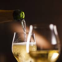 Champagne evening offers welcome respite