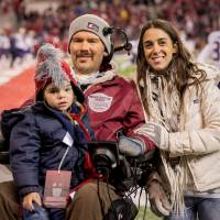 For the win: The Gleason family is the focus of a new documentary that details Steve Gleason's battle with ALS. | © 2016 DEAR RIVERS, LLC
