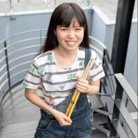 Drum prodigy Senri Kawaguchi doesn't put limits on her music
