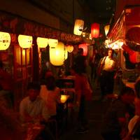 Drinking to health and history in Kagoshima