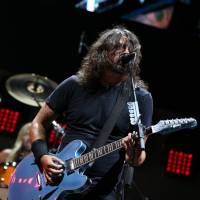Sunday night lights: Foo Fighters' Dave Grohl took to the Marine Stage on Sunday night to headline the Tokyo leg of this year's Summer Sonic festival. He was joined by singer Rick Astley during one particularly memorable performance. | © SUMMER SONIC ALL RIGHTS RESERVED