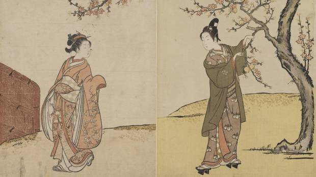 Harunobu from the Museum of Fine Arts, Boston