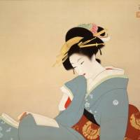 'Uemura Shoen and Quintessential Bijinga, Paintings of Beautiful Women'
