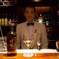 Fukuoka bar is a veritable temple of whiskey with over 3,000 bottles