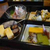 Picture of elegance: The Shokado bento at Sumikura elevates the form. | J.J. O'DONOGHUE