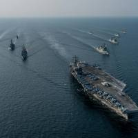 Key to countering North Korea lies offshore