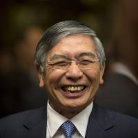 Despite a near total lack of inflation, Japan has managed to grow and increase employment under BOJ Gov. Haruhiko Kuroda's watch. | BLOOMBERG
