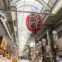 Robust retail: Shopping arcades in Osaka, such as Tenjinbashisuji, the longest arcade in Japan, still thrive. | GETTY IMAGES