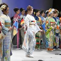 World kimono project aimed to revitalize crafts has three years to go
