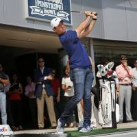 Rested McIlroy begins quest for FedEx Cup title