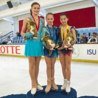 Takino takes bronze in Junior Grand Prix debut